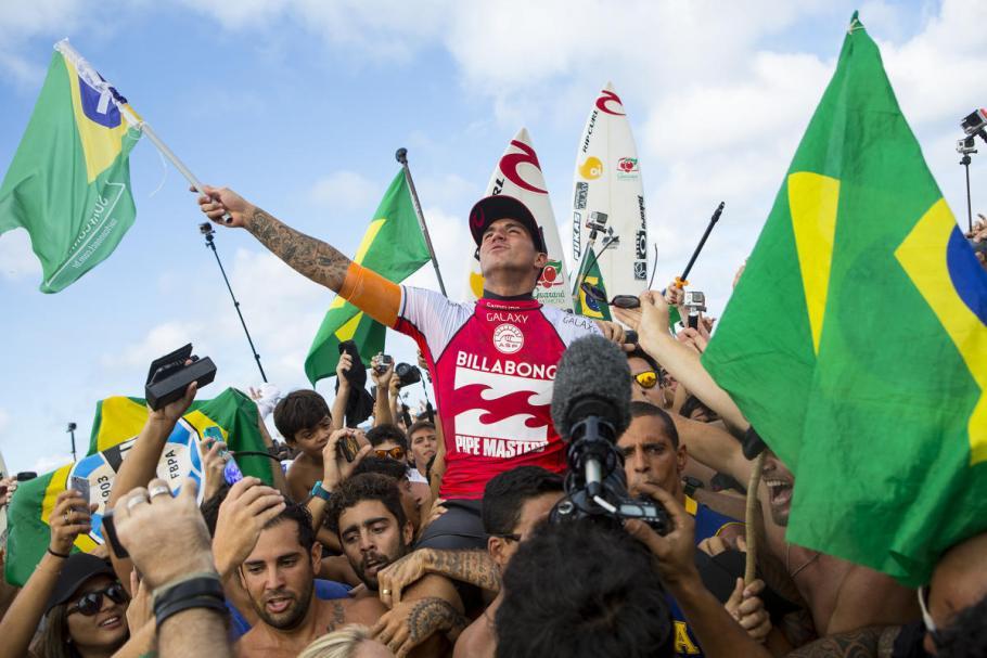 Gabriel Medina Bicampeão Mundial de Surfe