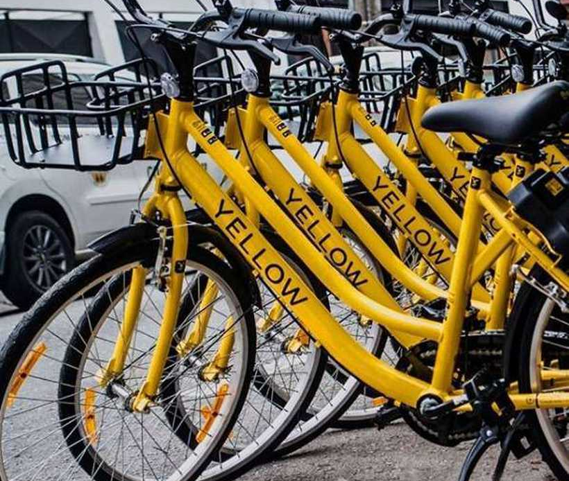 Yellow opera bicicletas e patinetes em Brasília - bernadetealves.com