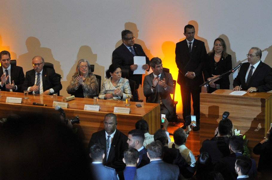 Posse governador Ibaneis Rocha