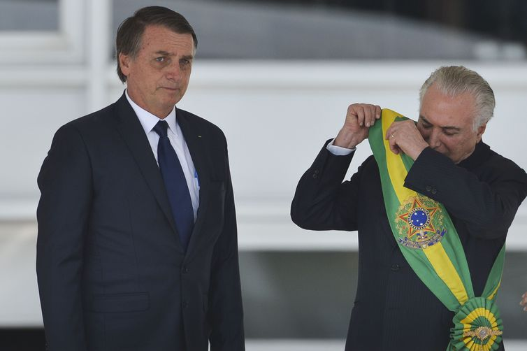 Posse Jair Bolsonaro