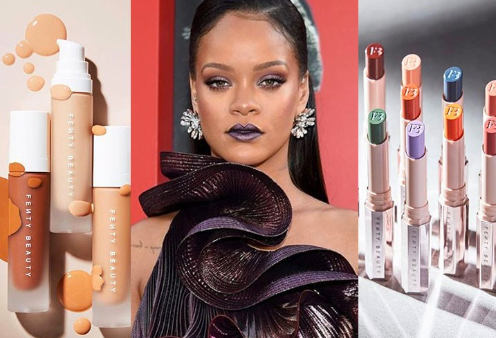 Rihanna maquiagem