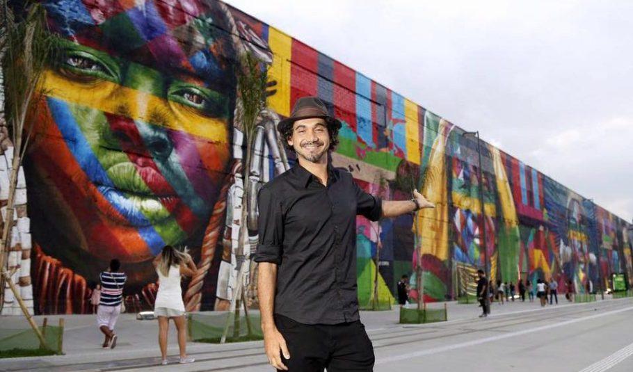 Etnias Eduardo Kobra RJ - bernadetealves.com
