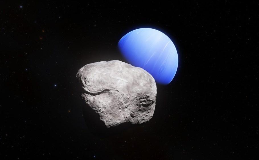 Hippocamp  a mais nova lua de Netuno - bernadetealves.com