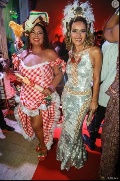 As atrizes Fabiana Carla e Leona Cavalli