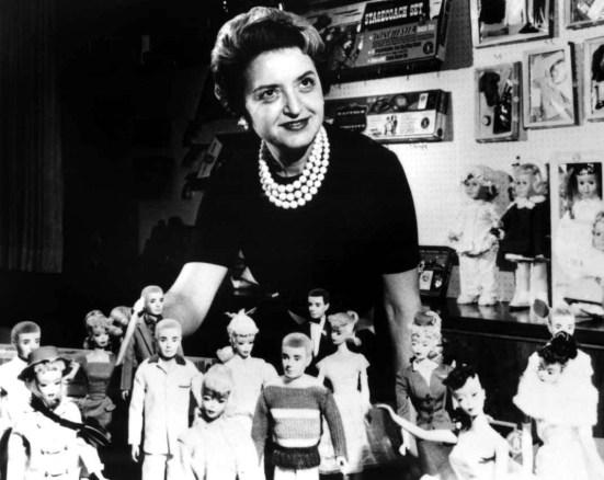 Ruth Handler, criadora da boneca Barbie