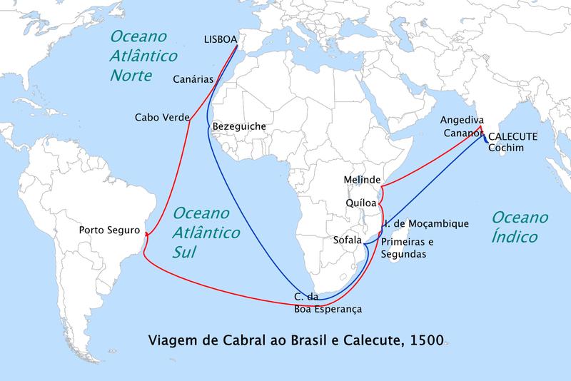 519 anos do Descobrimento do Brasil - Bernadete Alves