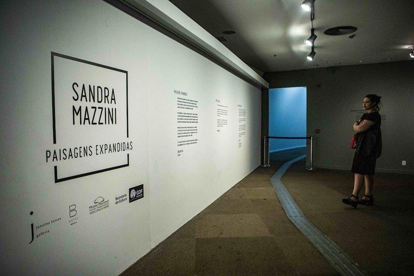 Paisagens Expandidas  de Sandra Mazzini em Brasília - Bernadete Alves