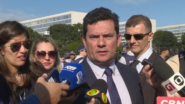 Mourão e Moro dão inicio à Operação Tiradentes 2019 - Bernadete Alves