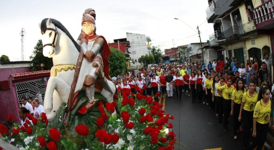 São Jorge Santo Guerreiro - Bernadete Alves