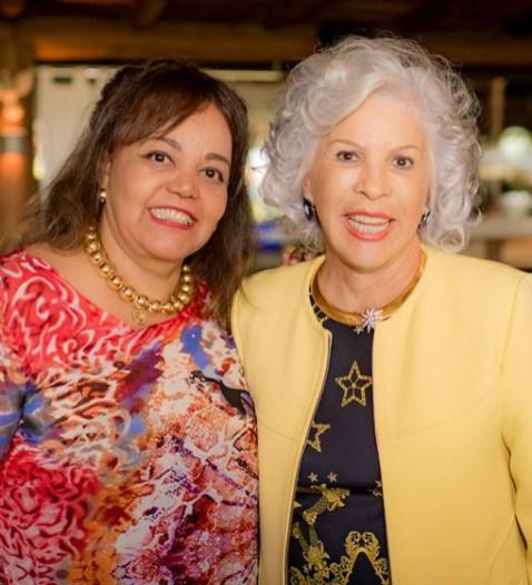 Eunicia Guimaraes e Cosete Ramos Gebrim