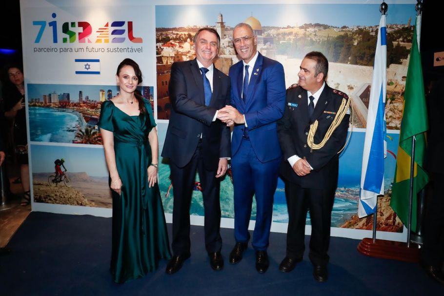 Bolsonaro participa das comemorações dos 71 anos de Israel - Bernadete Alves