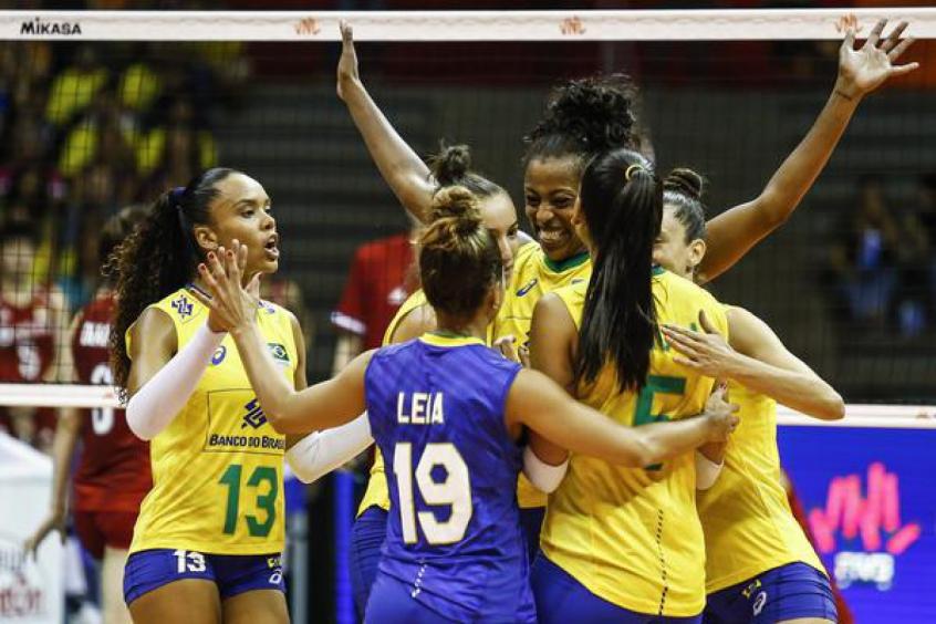 Brasil - Liga das Nações Feminina 2019 - etapa brasília - Bernadete Alves
