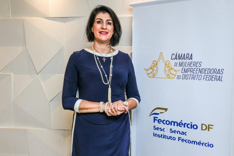 Fecomércio-DF lança Câmara de Mulheres Empreendedoras  - Bernadete Alves