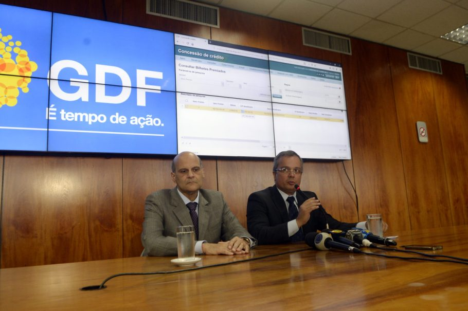 Sorteio do Nota Legal - GDF - Paco Britto - André Clemente - Buriti -  Bernadete Alves