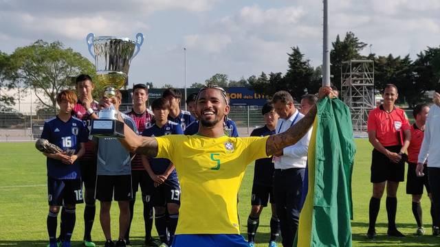 Brasil Sub-23 conquista nona taça no torneio de Toulon 2019 - França - Bernadete Alves