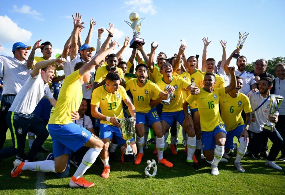 Brasil sub-23 conquista nona taça na França - Bernadete Alves