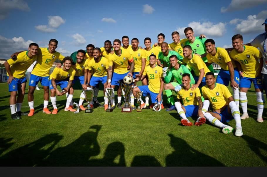 Brasil vence nos pênaltis e conquista nona taça na França - Bernadete Alves