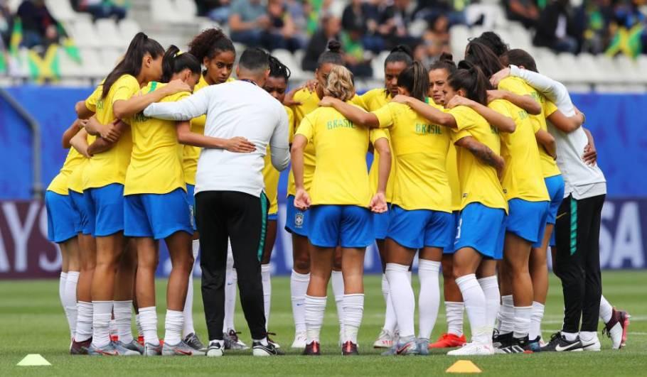 Brasil vence Jamaica com 3 gols de Cristiane - Copa do Mundo França 2019 - Bernadete Alves