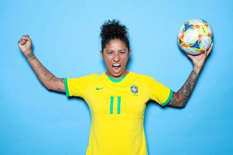 Copa do Mundo França 2019 - Brasil vence Jamaica- Cristiane - Bernadete Alves
