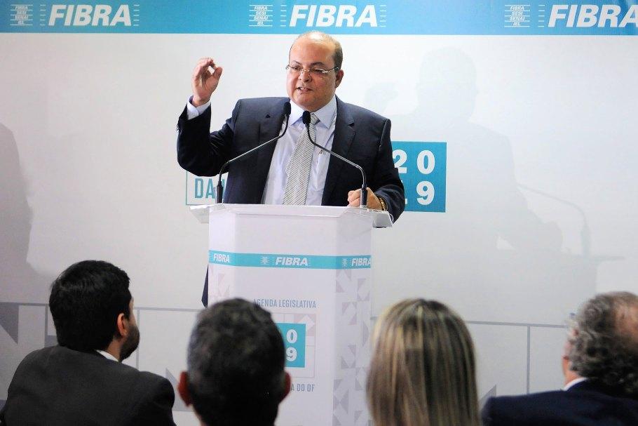 Fibra lança Agenda Legislativa 2019 -Governador Ibaneis Rocha - Bernadete Alves