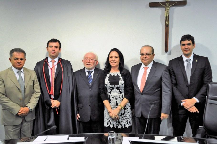 Marcos Felipe Pinheiro Lima - chefe do MP junto ao TCDF - Bernadete Alves
