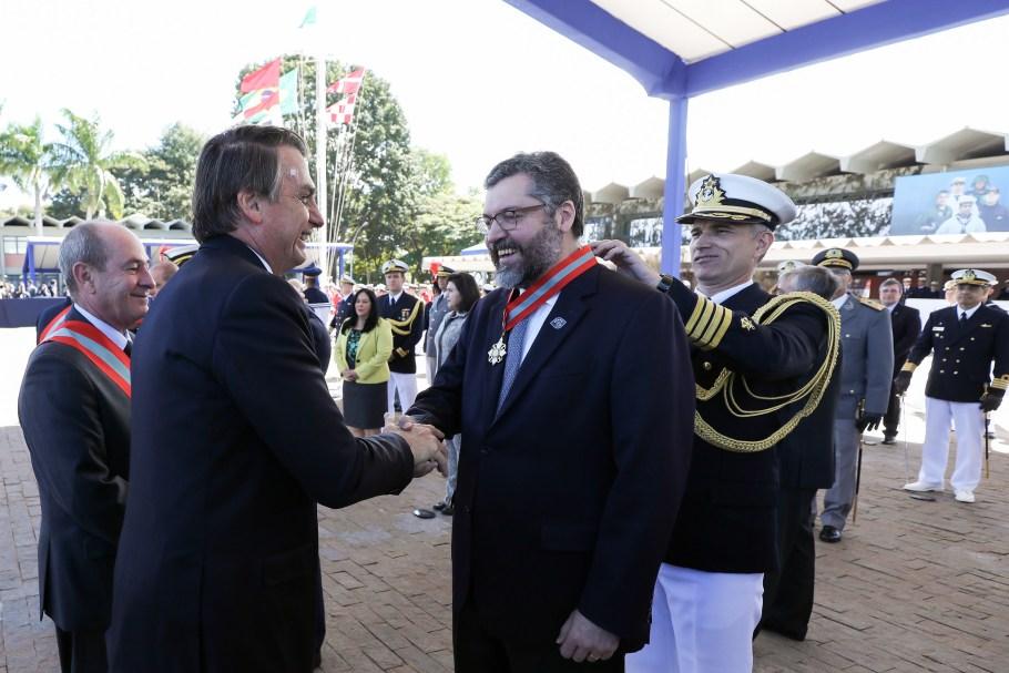 Marinha comemora Batalha Naval do Riachuelo - Almirante Ilques Barbosa - Bernadete Alves