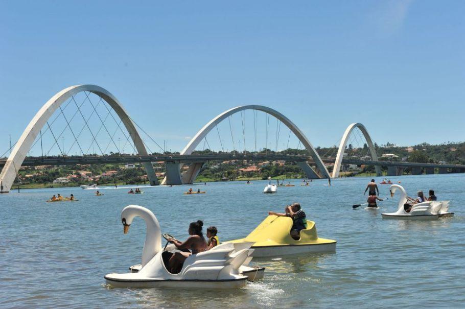 Ponte JK - Lago Paranoá - Bernadete Alves