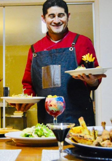 Chef Heldo Santos, do Rainbow Gastro Drinks, da 105 Sul