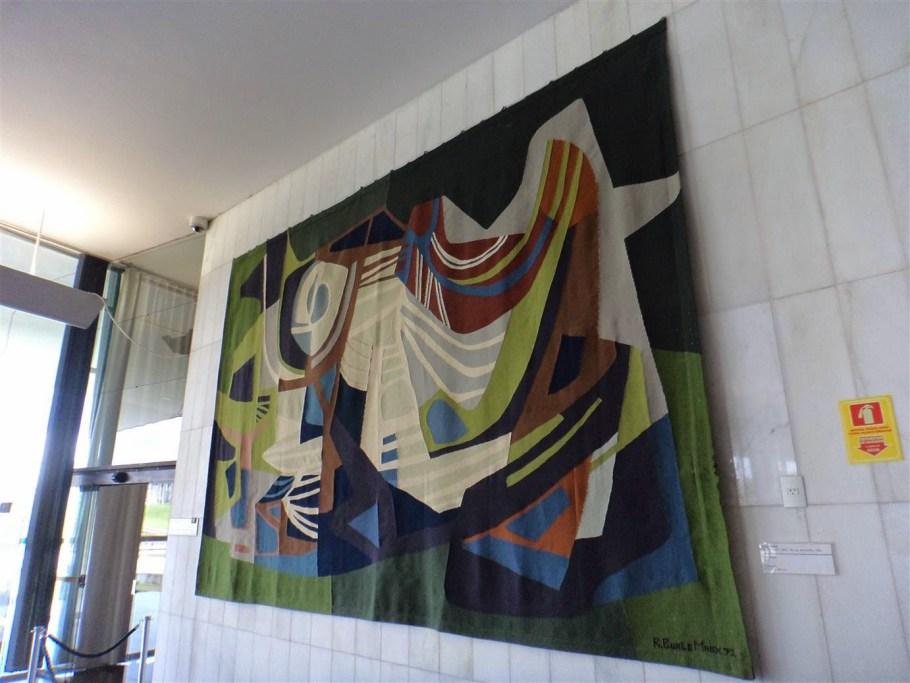 Tapeçaria de Burle Marx é atração no Congresso Nacional - Bernadete Alves