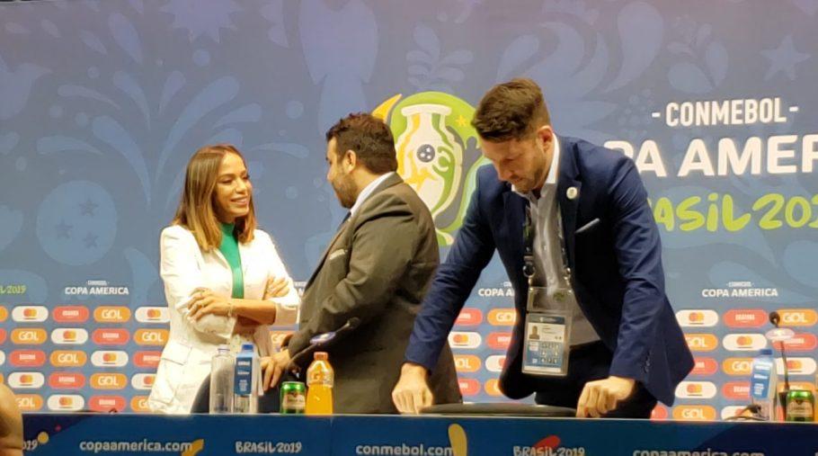 Anitta é a estrela do encerramento da Copa América 2019 - Bernadete Alves
