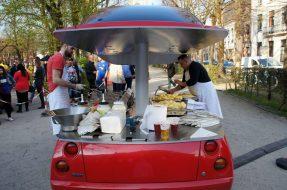 Carro fritadeira de Benedetto Bufalino