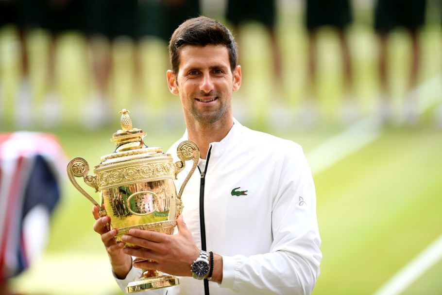 Djokovic salva match pointe e é penta em Wimbledon - Bernadete Alves