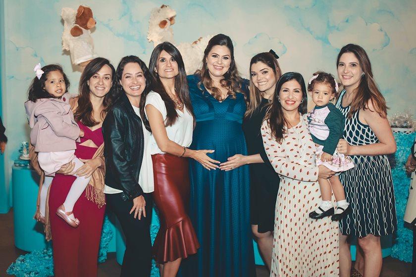 Família Benevides celebra chegada de Gabriel com requintado Chá de Bebê - Bernadete Alves