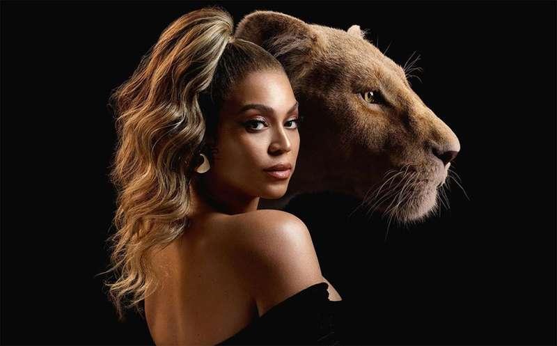 Filme Rei Leão pré-estreia em Londres - Beyonce -Bernadete Alves