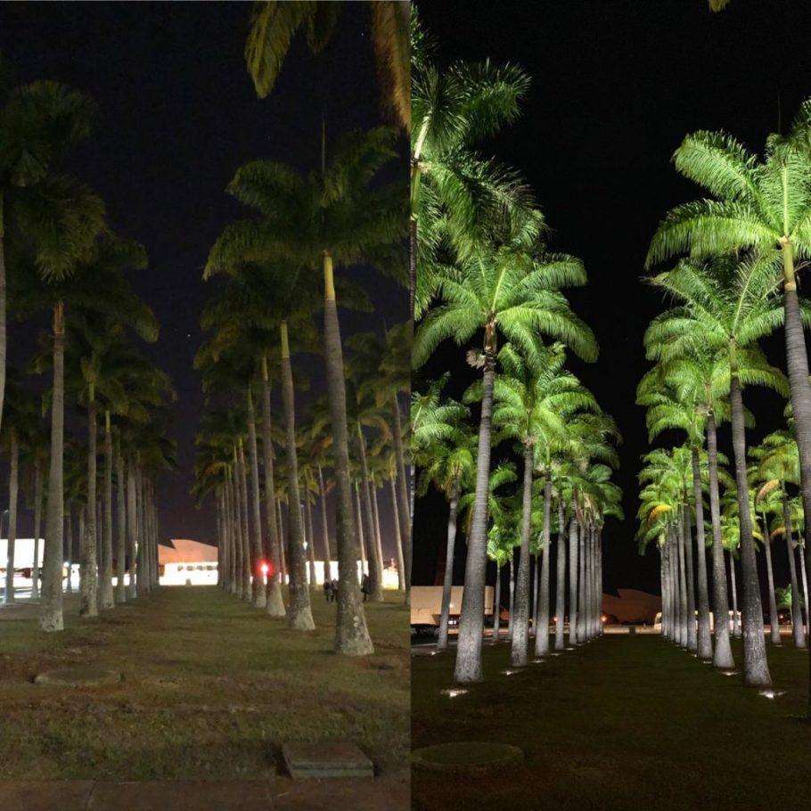 GDF troca iluminação da Praça dos Três Poderes - Jardim das Palmeiras - Bernadete Alves