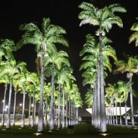 GDF troca iluminação da Praça dos Três Poderes e Palmeiras chamam atenção