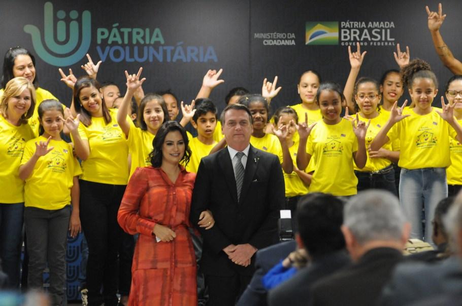 Governo Federal lança Pátria Voluntária - Bernadete Alves