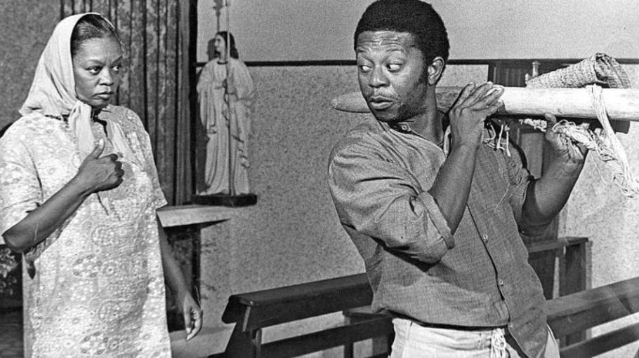 Morre Ruth de Souza, a primeira-dama negra do teatro, cinema e televisão -Sinhá Moça - Bernadete Alves