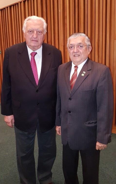Ronaldo Poletti e Prof. Dr. Pedro Jorge de Castro
