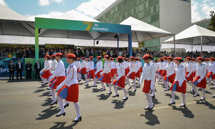 7 de Setembro em Brasília - escola militar- Bernadete Alves