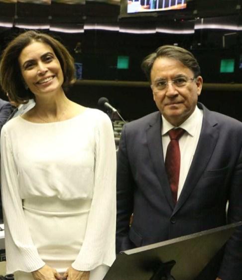 Giuliana Marrone e João Borges