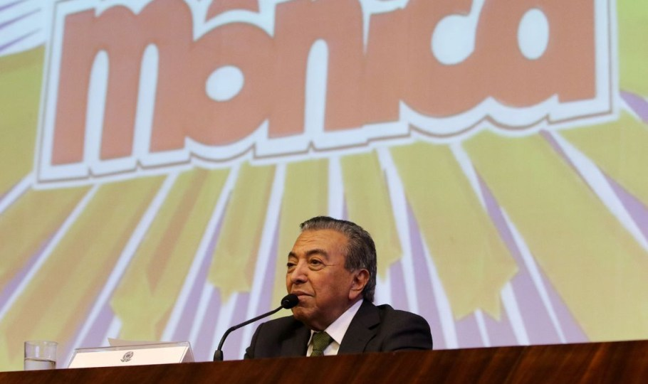 Cartunista Maurício de Sousa é homenageado no Senado - Bernadete Alves
