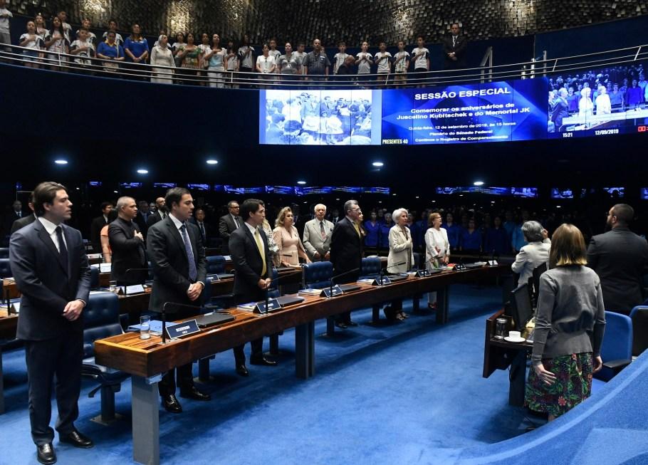 Senado comemora os 117 anos de JK e lança livro em sua homenagem - Bernadete Alves