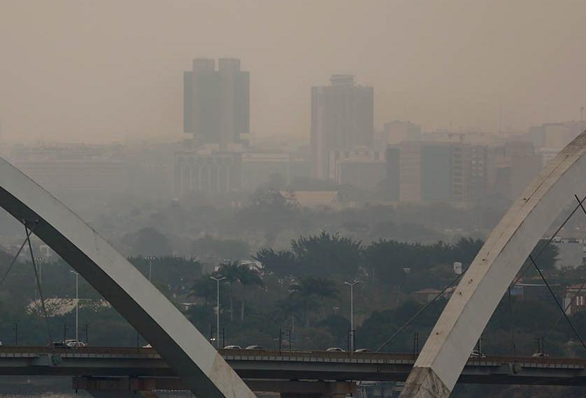 Umidade despenca e Brasília entra em alerta vermelho - Bernadete Alves