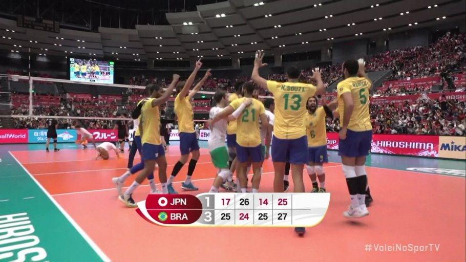 Brasil é tri da Copa do Mundo de vôlei masculino - tri- Bernadete Alves