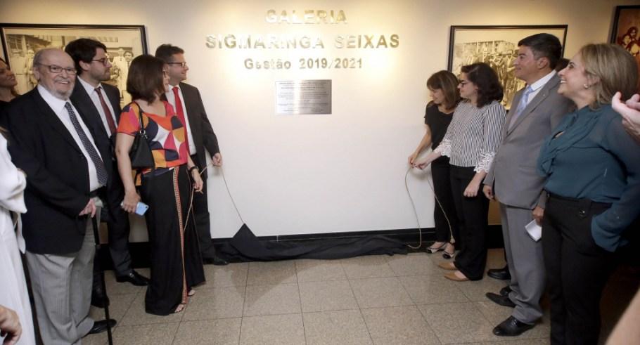 OABDF inaugura Galeria Sigmaringa Seixas - Bernadete Alves