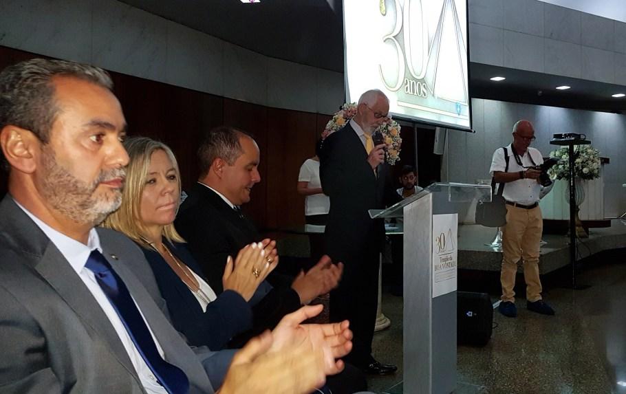 TBV celebra 30 anos com ações pela Paz no Mundo - celebração - Bernadete Alves