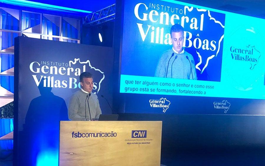 Villas Bôas cria IGVB - Huck - Bernadete Alves