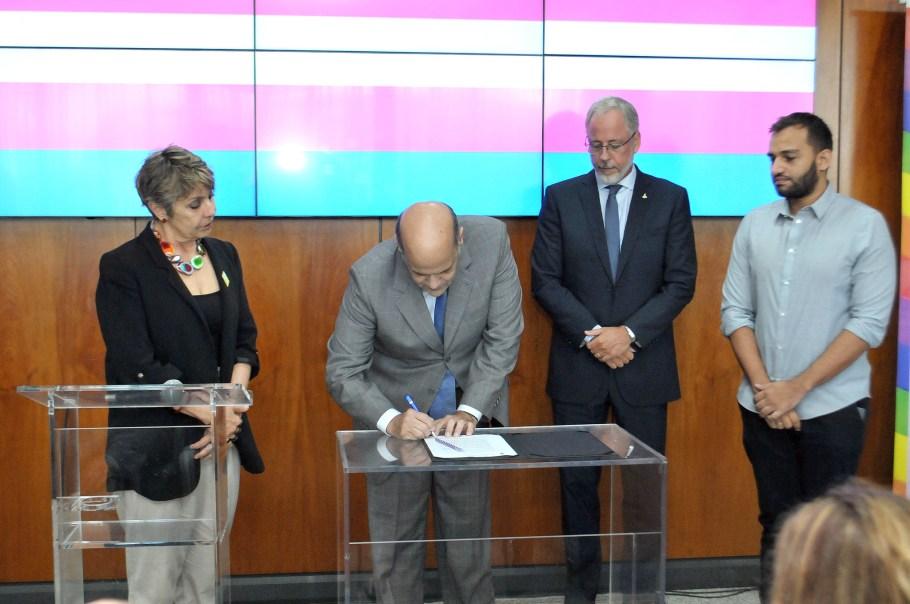 GDF ressalta a importância da luta contra a transfobia - Bernadete Alves