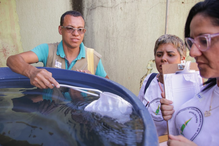 GDF reforça combate intenso ao mosquito da Dengue - Bernadete Alves